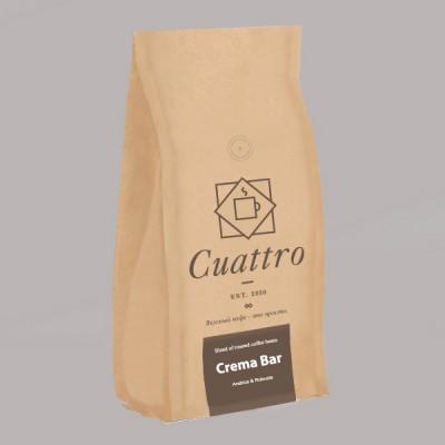 Кофе CUATTRO Crema Bar (упаковка 500 г)