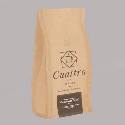 Кофе CUATTRO Guatemala Decaf (упаковка 500 г)